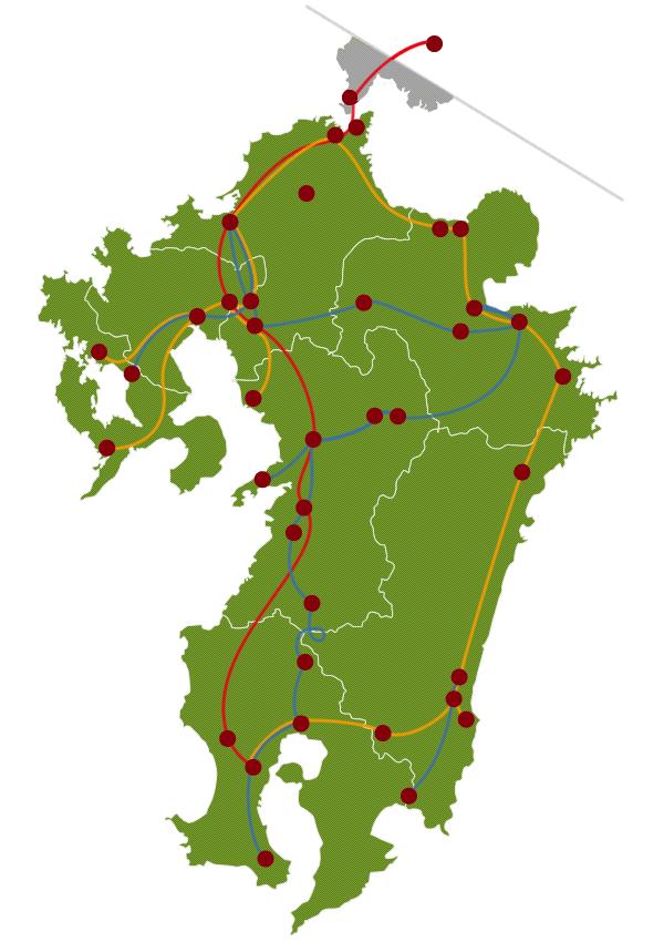 Routing / Timetable | JR KYUSHU RAILWAY COMPANY on dublin rail map, australia rail map, seoul rail map, ibaraki rail map, new york rail map, korea rail map, china rail map, india rail map, tokyo rail map, france rail map, jr rail map, vienna rail map, japan rail map, england rail map, ireland rail map, istanbul rail map, edinburgh rail map, osaka rail map, europe rail map, spain rail map,
